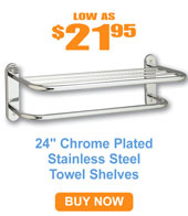 Deluxe Towel Shelves