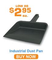 Plastic Dust Pan; Grey