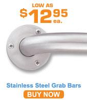 Stainless Steel Grab Bars