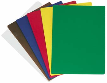 Color coded plastic cutting boards national hospitality supply