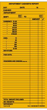 Cashier Deposit Envelopes 500 Box