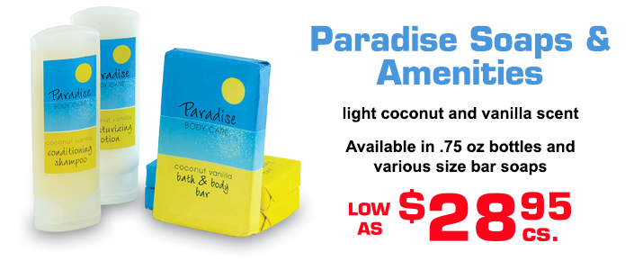 Paradise Soaps and Amenities