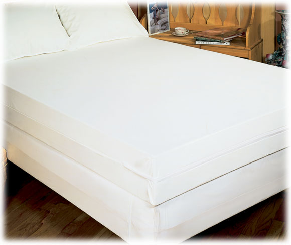 Mattress covers pads dust control zippered mattress covers for Sofa bed zippered mattress cover