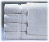 Royal Suite 100% Cotton Guestroom Towels; White