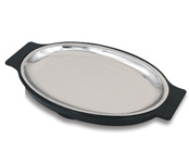 Stainless Steel Sizzle Platters