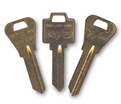 Standard Key Blanks