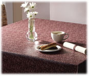 Flame Retardant Vinyl Tablecloths; 9 Ga.