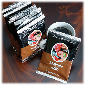 Coffee Makers That Use Pouches : Mornin Java Coffe - 4 Cup Coffee Pouches