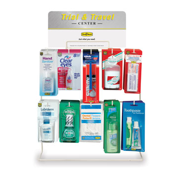 Lil' Necessities Trial & Travel Center 54 Pc. Counter Display