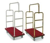 Heavy-Duty Luggage Carriers - Steel & Metal