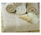 Williams Bay Guestroom Towels; Beige