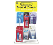 Lil Essentials 6 Peg Travel Counter Display