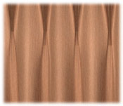 Trevira Color Custom Draperies; Mason