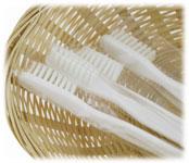 Wrapped Nylon Toothbrushes; 500/cs.