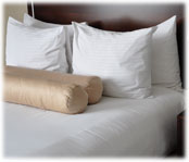 250 ct. White, Bed Sheets & Pilllowcases