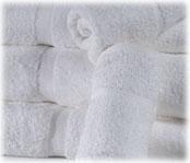 St. Moritz 100% Cotton White Guestroom Towels