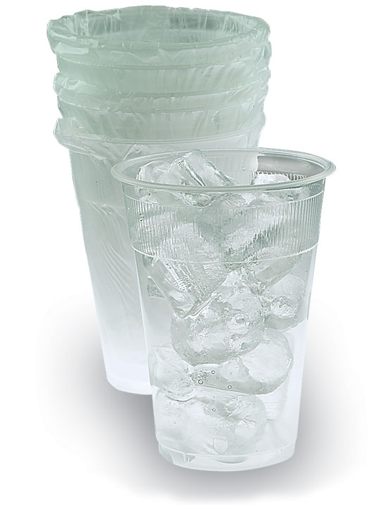 Individually Wrapped Plastic Hotel Cups Shatter Proof